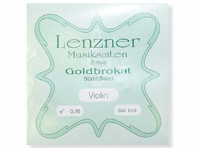 Lenzner Goldbrokat Violin Strings 4/4 Set