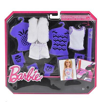 Barbie Airbrush Designer Purple Extension Pack (CMJ64)