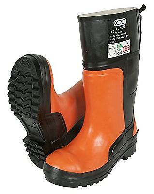 Oregon Yukon 295385/42 Chainsaw Protective Rubber Safety Boot 8 UK