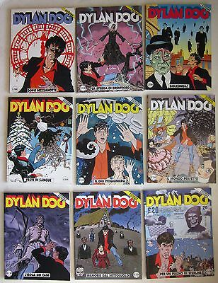 DYLAN DOG 4 € 9 albi 1°-2° ristampa lotto misto 26-41-87-162-163-165-172-173-194