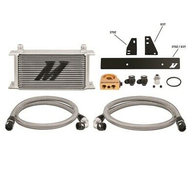 Mishimoto Oil Cooler Kit (370Z) - Silver, Thermostatic