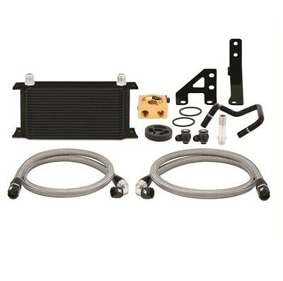 Mishimoto Oil Cooler Kit (WRX 15-16) Thermostatic, Black