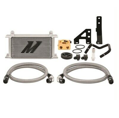 Mishimoto Oil Cooler Kit (WRX 15-16) Thermostatic, Silver