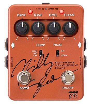 EBS Billy Sheehan Signature Drive Deluxe Bass Pedal