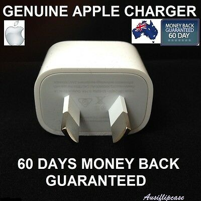 GENUINE APPLE iPhone 7/ 7Plus 6S SE 5S Wall Charger Adapter For all Apple iPhone