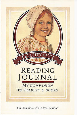 PLEASANT COMPANY FELICITY READING JOURNAL! ACTIVITES FOR 5 BOOKS! RETIRED~92~htf