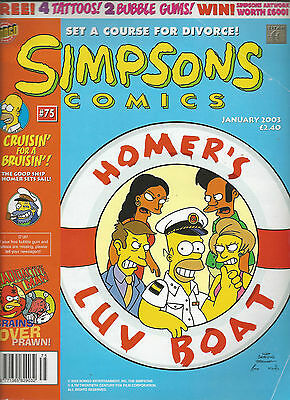 Simpsons Comics Jan 2003   Issue 75