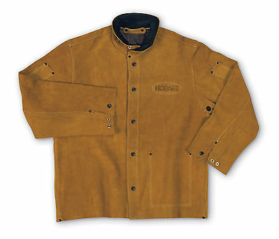Hobart Large Leather Welding Jacket 770488
