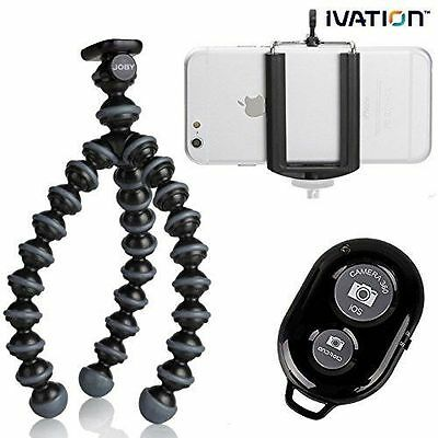JOBY Gorillapod Flexible Compact Camera Tripod & Bluetooth Wireless remote