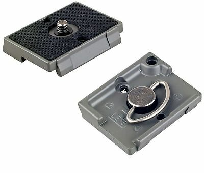 IVATION Quick Release Plates for the RC2 Rapid Connect Adapter for Manfrotto