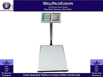 New Heavy Duty Keela 332Lb 150Kg Industrial Platform Postal Weighing Scales.
