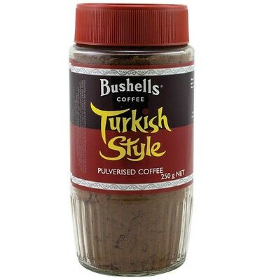 Bushells Turkish Style Coffee 250gm