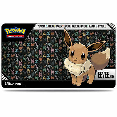 Eevee, Jolteon, Sylveon PLAYMAT PLAY MAT ULTRA PRO FOR Pokemon CARDS TCG
