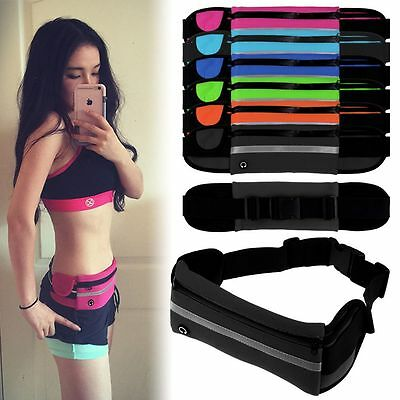 Outdoor Sports Waterproof Waist Belt Pack Running Cycling Pouch Bag For Phone