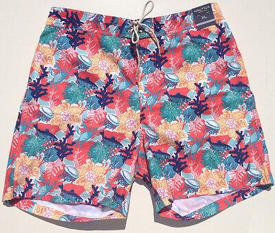 NEW - RRP $199 - Mens Stunning NAUTICA Beach Sail Surf Swim Board Shorts XL