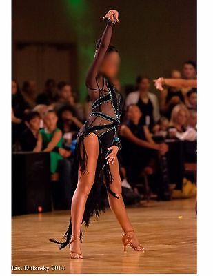 Ballroom Latin Rhythm Competition Dance Dress