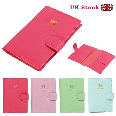 PU Leather Travel Bag Wallet Document Organiser ID Passport Ticket Holder