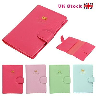 Travel Passport Holder Ticket Protector Case Cover Bag Document Organizer Wallet