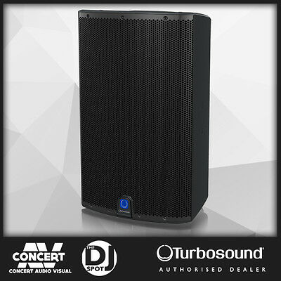 "Turbosound IQ15 2500 Watt 2 Way 15"" Powered Speaker KLARK TEKNIK DSP - BRAND NEW"