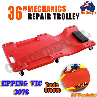 "36"" Professional Garage Creeper Dolly Workshop Car Auto LAYING FIXING Trolley"