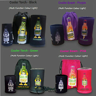 NEW 6 PACK Cooler BEAM Stubby Holder Torch's-MATES PACK Fishing Camping PARTY