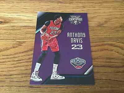 2015/16 Totally Certified Anthony Davis 22/50 Purple Pelicans