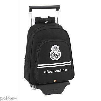 Real Madrid cartable à roulettes trolley M sac à dos 34 cm maternelle 211319