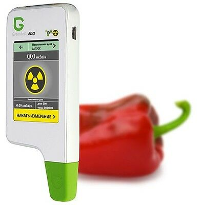 2in1 Greentest Eco portable Radiation + Nitrate detector geiger counter tester