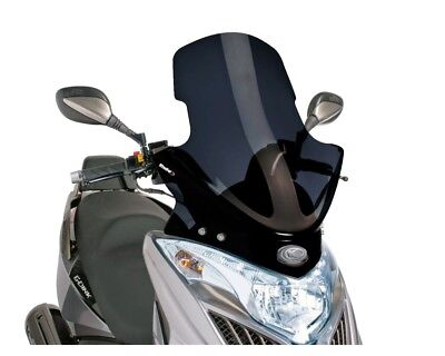 Windschild PUIG V-Tech schwarz für Kymco Grand Dink 300i