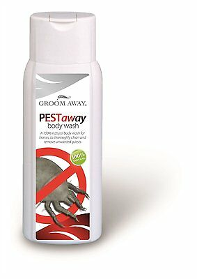 Groom Away Natural Pest Away Body Wash 400ml & 1 Litre 100% Natural for Horses