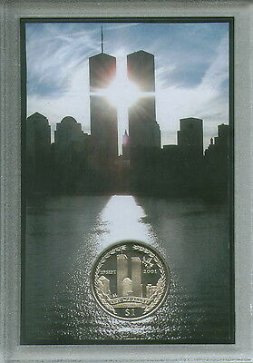 The World Trade Center New York USA Twin Towers 9/11 911 Memorial Coin Gift Set