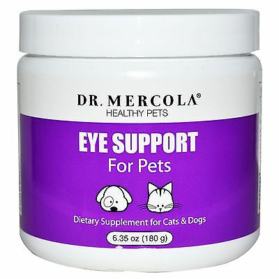 Dr. Mercola, Healthy Pets, Eye Support For Pets, 6.35 oz (180 g)
