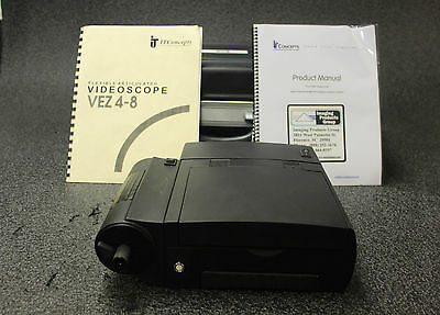 IT Concepts VisiePro Flexible Articulated VIdeoscope VEZ4-8 Remote Inspection