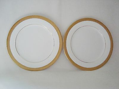 Boots IMPERIAL GOLD Side Plates 21.3cm - set of 2