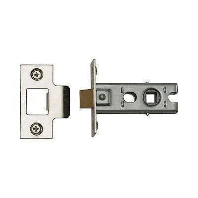 "Mortice Tubular Latch Catch Strike Internal Quality Door 64mm 2.5"" Plus Fixings"