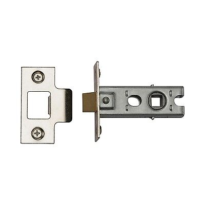 "Mortice Tubular Latch Catch Strike Internal Quality Door 76mm 3 "" Plus Fixings"