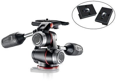 Manfrotto MHXPRO3W X-PRO 3-Way Head w/ Retractable Levers & Friction Control