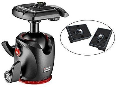 Manfrotto XPRO Magnesium Ball Head with Two Ivation Quick Release Plates