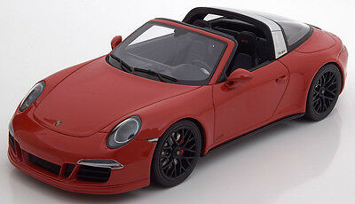 GT Spirit 2014 Porsche 911 (991) GTS Targa Red LE of 991 1/18 Scale New In Stock