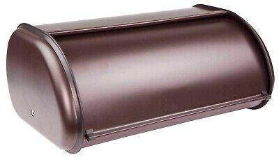 Home Basics NEW Bronze Modern Smooth Bread Storage Box - BB44720