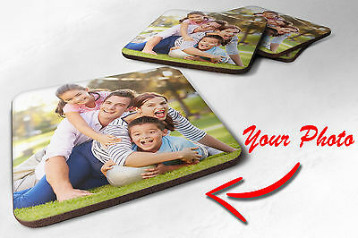 Personalised Coaster - Your Photo / Logo / Text - Printed Gift
