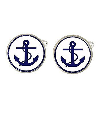 Anchor Mens Cufflinks Ideal Wedding Birthday Fathers Day Gift C499