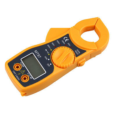 Digital Multimeter LCD Clamp AC DC Voltage Current Volt Amp Ohm Tester