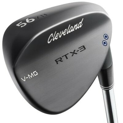New Cleveland Golf Rtx-3 Wedge Black - 2 Dot - Choose Your Loft - Rtx 3