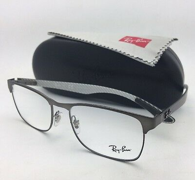 b72a6cbfcd6f6 NEW RAY-BAN RX-ABLE Eyeglasses TECH RB 8416 2620 53-17 Gunmetal ...