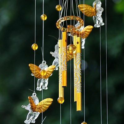 4 Tubes Bell Wind Chimes Home Yard Amazing Garden Decor Outdoor Living Hanging