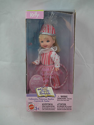 MIP Barbie sister  2003 NUTCRACKER KELLY Doll PEPPERMINT OUTFIT