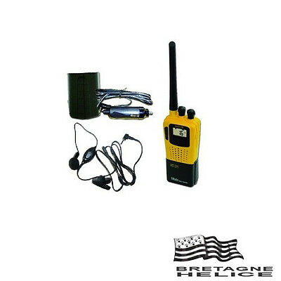 Pack Vhf Portable Navicom Rt311 5W Alimentation 12V