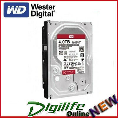 "Western Digital WD Red Pro 4TB 3.5"" SATA Internal NAS Hard Drive HDD 7200RPM"