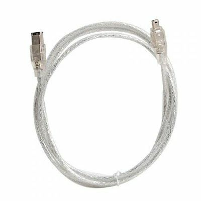 IEEE 1394 FireWire iLink DV cable 4 - pin to 6 - pin M / M 4 ft LW